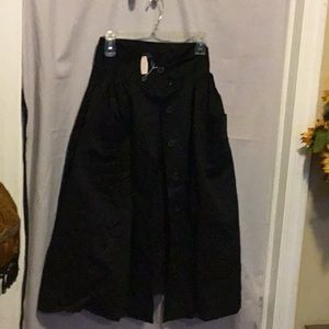 Body By Victoria Flared Skirt